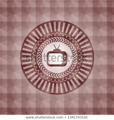üçgen · Retro · etiket · dizayn - stok fotoğraf © tashatuvango