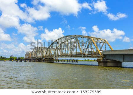 old bridge in East area of New Orleans crossing the bay  stock photo © meinzahn