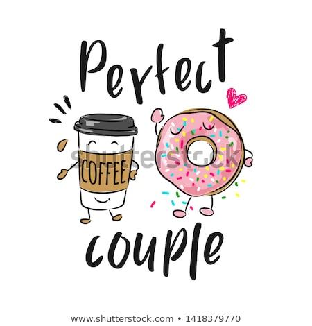 Coffee and Doughnut stock photo © Tagore75