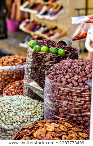 Assorted fruits for sale at a market stall, Mexico City, Mexico Stock photo © bmonteny