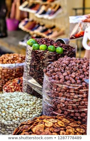 Frutas venta mercado Ciudad de México México frutas Foto stock © bmonteny