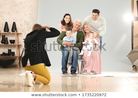 Family photographing stock photo © bmonteny