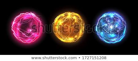 Glowing spheres Stock photo © maxmitzu