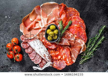 Jamon Tapas Stock photo © zhekos