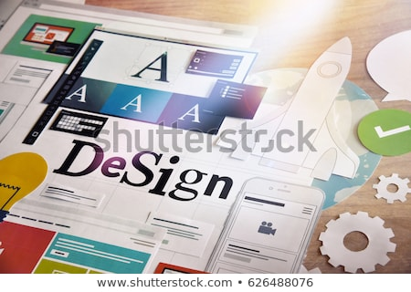Creative services Stock photo © Lightsource