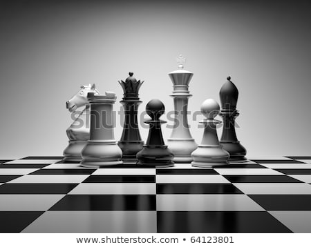 Chess Composition Stock photo © ankarb