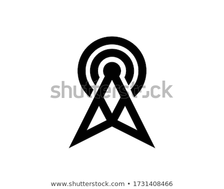 Uydu anten iki mavi gökyüzü gökyüzü telefon Stok fotoğraf © mayboro1964