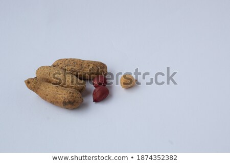 Stock photo: some peanuts