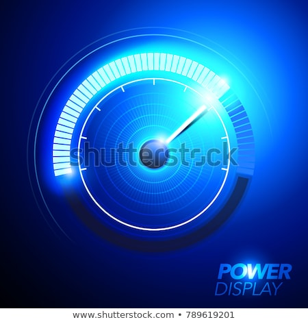 Limited Blue Vector Icon Design Stock photo © rizwanali3d