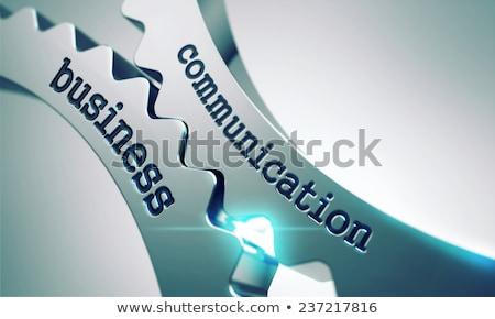 üzlet távközlés fém sebességváltó mechanizmus internet Stock fotó © tashatuvango