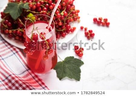 Stock photo: blueberry drink