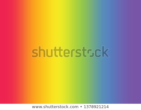 Stock photo: Gay rainbow gradient mesh blur background