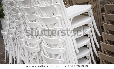 piled chairs outdoor Stock photo © daboost