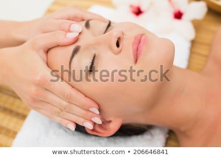 Pacifica pretty woman massaggio tavola donna Foto d'archivio © wavebreak_media