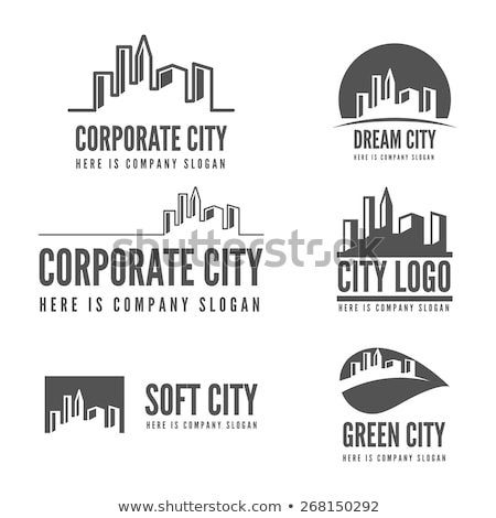 抽象的な ホーム ロゴ 不動産 アーキテクチャ 事務所 ストックフォト © shawlinmohd