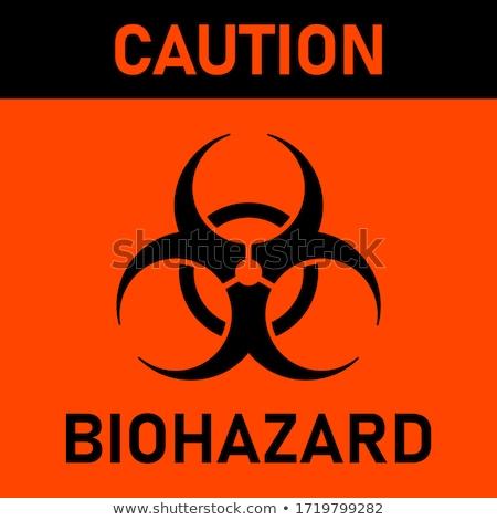 Biohazard sign Stock photo © leonardo