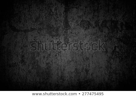 grunge · szürke · fekete · fém · tányér · szivárgás - stock fotó © scenery1