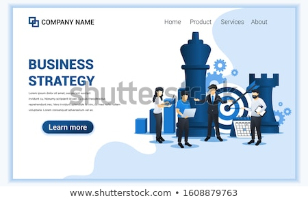 Estratégico idéias negócio símbolo lâmpada Foto stock © Lightsource