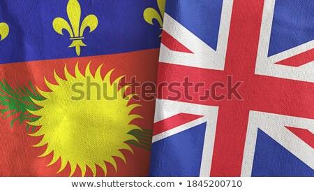Egyesült Királyság zászlók puzzle izolált fehér üzlet Stock fotó © Istanbul2009