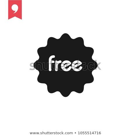 Free Coupon Green Vector Icon Design Stock photo © rizwanali3d