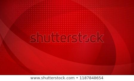 赤 勾配 曲線 行 抽象的な ベクトル ストックフォト © Kheat