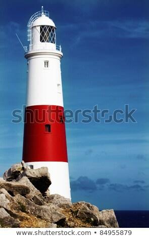 kilátás · piros · óceán · kövek · több · citromsárga - stock fotó © burchenko