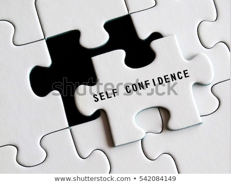 Self-Respect - Jigsaw Puzzle with Missing Pieces. Stock photo © tashatuvango