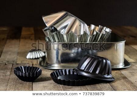 tart shell and baking pan stock photo © digifoodstock
