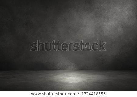 öreg · fal · sötét · sarkok - stock fotó © alrisha