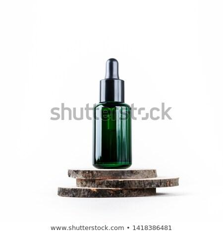 A green medical bottle Stock photo © bluering
