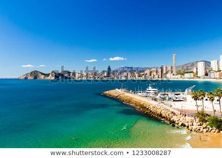 Kustlijn stad moderne resort een populair Stockfoto © artjazz