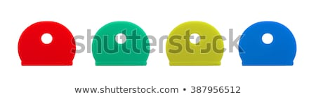 Silicone key covers isolated Stock photo © michaklootwijk