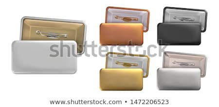 name badge template stock photo © pakete
