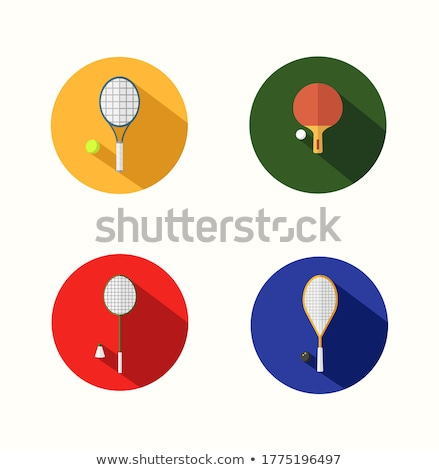 Czerwony piłka ikona wektora gry sportu Zdjęcia stock © MarySan