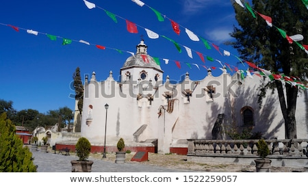 Frescoes Basilicas Sanctuary of Jesus Atotonilco Mexico Stock photo © billperry
