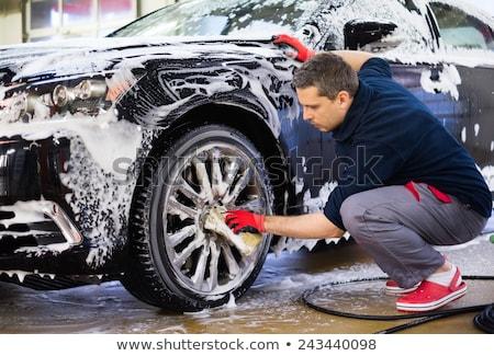 Car wash station dienst auto schone garage Stockfoto © Filata