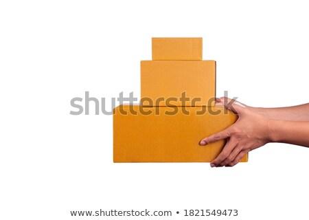 odpadów · papieru · odizolowany - zdjęcia stock © pakete