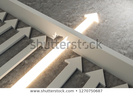 Obstacle To Opportunity Stock photo © Lightsource
