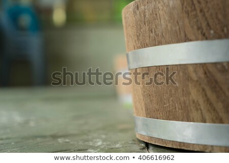 Stok fotoğraf: Closeup Casks Spa Surface