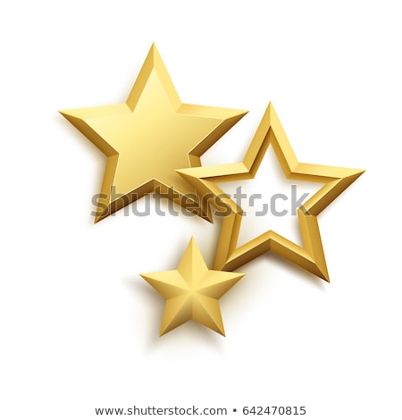 Frame with gold stars Stock photo © blackmoon979