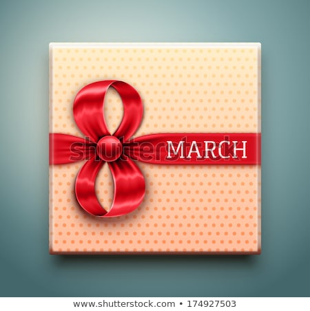 8 march women s day greeting card object eps 10 stock photo © beholdereye