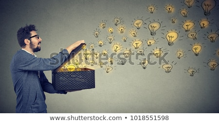 Moc pomysły nieograniczony twórczej siła żarówka Zdjęcia stock © Lightsource