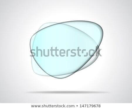 Intersecting glass plates Stock photo © SwillSkill