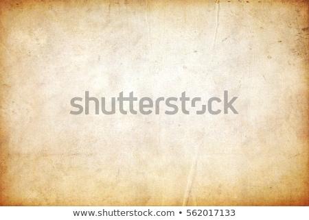 Eski kağıt kirli eski sarı kâğıt Stok fotoğraf © SwillSkill