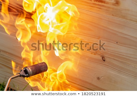 Working With Blow Torch Stock photo © AlphaBaby