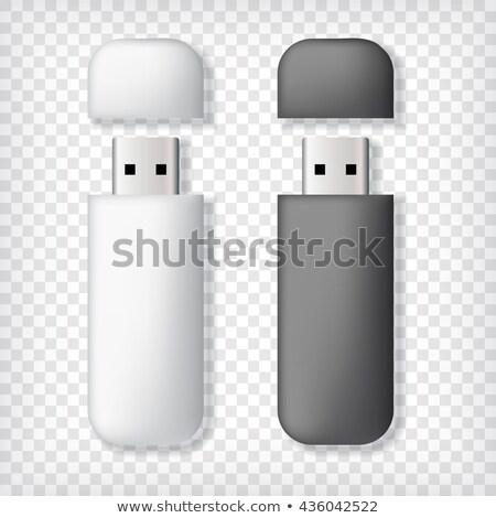 Two usb memory sticks mockup Stock photo © pakete