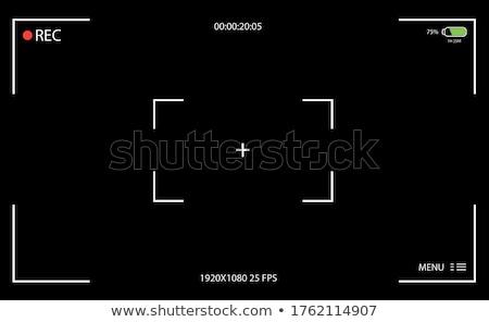 camera viewfinder transparent background Stock photo © romvo