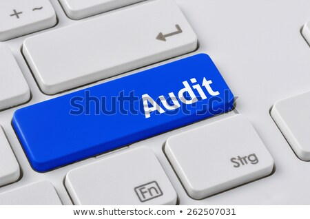 E-Commerce - Clicking Blue Keyboard Button. Stock photo © tashatuvango