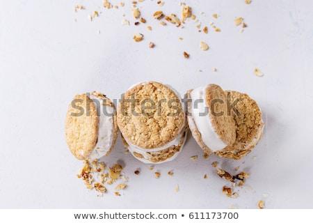 almond crumb cookie Stock photo © Digifoodstock