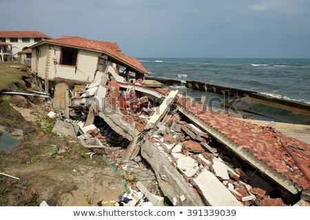erosione · il · cambiamento · climatico · in · tutto · il · mondo · Vietnam · ristorante - foto d'archivio © xuanhuongho
